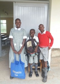 Ze zijn er klaar voor... Susan, Joseph en Stephen voor Machakos School for the Deaf, Circle4life Kenya, special need children