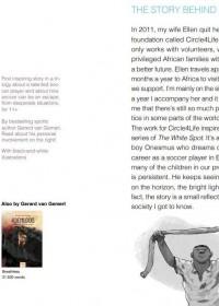 Gerard van Gemert, ambassadeur, De witte stip, Circle4life, boekenbeurs Bologna (Italie)