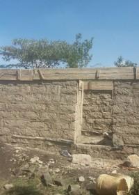 Huis in aanbouw, Baringo, mama Catherine, Circle4life Kenya
