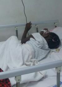 Nog suf van de narcose en onder de medicijnen, Akoth, Gatundu District Hospital, Medische hulp, Circle4life Kenia