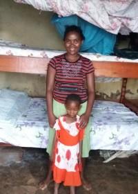 Een van 'onze' moeders, Circle4life Kenia, moederdag
