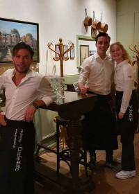Het C4L team Cafe Restaurant Aaltje 2019