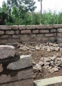 De fundering ligt, de bouw is gestart, Kamunyu, Kenya, Circle4life, crisis aid