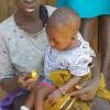Oma Grace en baby Freshia, education, teenpregnancy, Circle4life Kenya